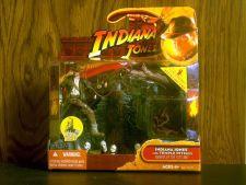Buy Indiana Jones with Temple Pitfall by Hasbro