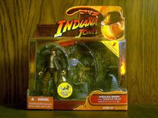 Buy Indiana Jones with Temple Trap by Hasbro