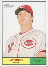 Buy 2010 Topps Heritage #76 Jay Bruce