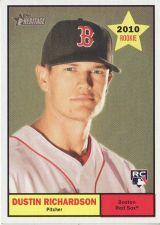 Buy 2010 Topps Heritage #81 Dustin Richardson