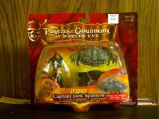 Buy Captain Jack Sparrow with crab and chart by zizzle