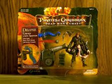 Buy Deluxe Captain Jack Sparrow with firing black pearl cannon and kraken tentacle