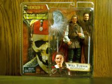 Buy Will Turner with two cutlasses, flexible cape, hatchet, hat and alternate head