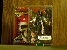 Buy Capt Jack Sparrow with cutlass,rum bottle,compass,pistol,hat,alternate head,base