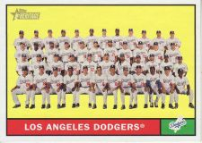 Buy 2010 Topps Heritage #86 L.A. Dodgers