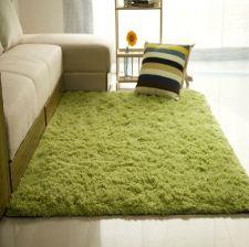 Buy 5 Dimensions Long Plush Shaggy Soft Carpet Area Rug Slip Resistant Door Floor Mat For