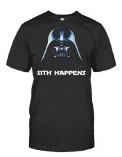 Buy SITH HAPPENS UnOfficial Star Wars tee