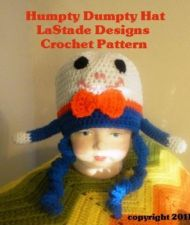 Buy Humpty Dumpty Hat Crochet Pattern for Baby PDF Pattern
