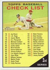 Buy 2010 Topps Heritage #98 Checklist