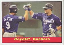 Buy 2010 Topps Heritage #119 Royals Bashers