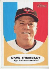 Buy 2010 Topps Heritage #131 Dave Trembley