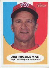 Buy 2010 Topps Heritage #134 Jim Riggleman