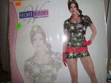 Buy Sexy Recruit woman military costume holographic sequin xsmall Complete USA seller