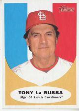 Buy 2010 Topps Heritage #139 Tony La Russa