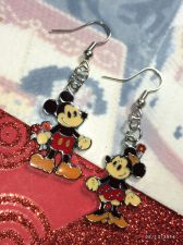 Buy Disney Mickey & Minnie Inspired SteamBoat Willie Earrings