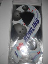 Buy Bowling car ribbon magnet 12 I love bowling 8 in UV protection 1 Dozen new