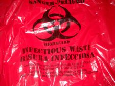 Buy Biohazard bags red waste Impact resistance lot 2 new bags 33 gallon cruise camp