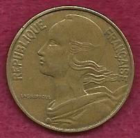 Buy France 20 Centimes 1967 FRENCH REPUBLIQUE FRANCAISE