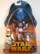 Buy Star Wars Revenge of the Sith Clone Trooper (Red)