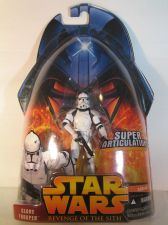 Buy Star Wars Revenge of the Sith Clone Trooper (Super Articulation!)