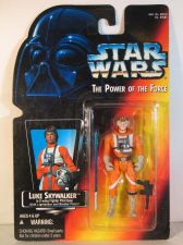 Buy Star Wars The Power of the Force Luke Skywalker X-wing Pilot (Short Lightsaber)