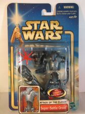 Buy Star Wars Attack of the Clones Super Battle Droid