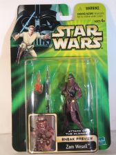 Buy Star Wars Attack of the Clones Sneak Preview Zam Wesell