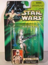 Buy Star Wars Attack of the Clones Sneak Preview Clone Trooper