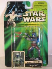 Buy Star Wars Attack of the Clones Sneak Preview Jango Fett
