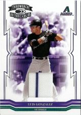 Buy Luis Gonzalez 2005 Donruss Throwback Threads Game-Used Jersey Card #168 (181/250)