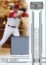 Buy Sean Casey 2005 Donruss Prime Patches Game-Used Jersey Card #26 (102/150)