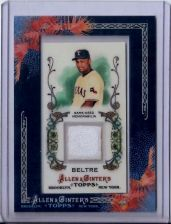 Buy Adrian Beltre 2011 Topps Allen & Ginter's Game-Used Jersey Card #AGR-AB