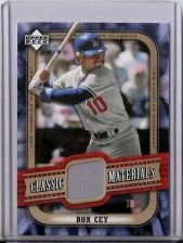 Buy Ron Cey 2005 UD Classics Classic Materials Game-Used Jersey Card #MA-RC