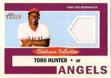 Buy Torii Hunter 2013 Topps Heritage Clubhouse Collection Game-Used Jersey Card