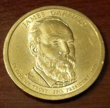 Buy 2011-P James Garfield Presidential Dollar (5722)