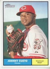 Buy 2010 Topps Heritage #162 Johnny Cueto