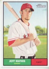 Buy 2010 Topps Heritage #163 Jeff Mathis