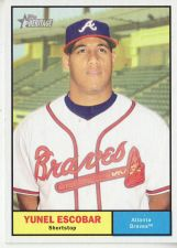 Buy 2010 Topps Heritage #164 Yunel Escobar