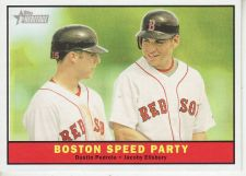 Buy 2010 Topps Heritage #173 Boston Speed Party