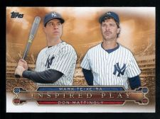 Buy 2015 Topps Inspired Play Insert Card #I-3 Mark Teixeira & Don Mattingly - NM-MT