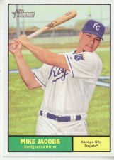 Buy 2010 Topps Heritage #199 Mike Jacobs