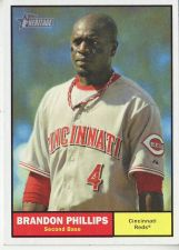 Buy 2010 Topps Heritage #204 Brandon Phillips