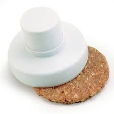 "Buy Norpro 4"" White Plastic Hamburger Press"