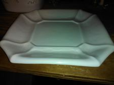 "Buy Ceramic Octagonal Shaped Platter Size: 11 1/2"" X11 1/2"" DEE Printed on Bottom"