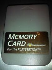 Buy PLAYSTATION #S5397 ''PERFORMANCE'' MEMORY CARD