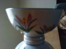 Buy 1 pc porcelain rice bowl colored flowers