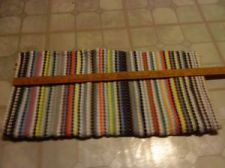"Buy 2 Multi-Color Rectangle Braided Reversible Rug 24"" x 45"""