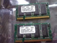 Buy 1 Samsung KOREA DDR RAM 266MHz 256MB PC2100 S-25330-AD M470L3224DT0-CB0 DDR PC2