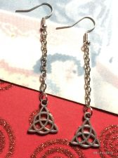 Buy Cool CelticTriquetra Earrings