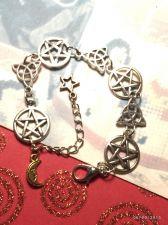 Buy Pentacle & CelticTriquetra Link Bracelet